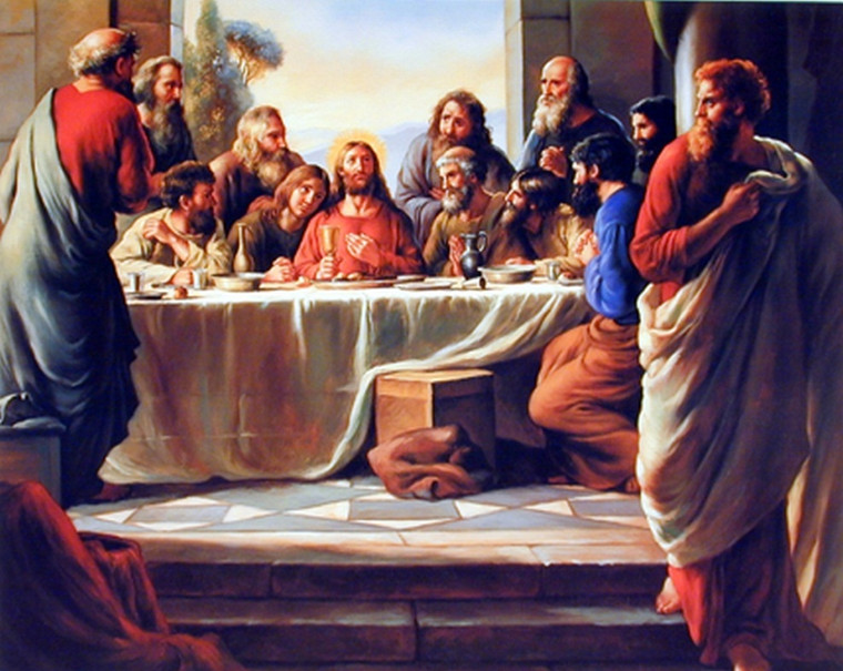 The Last Supper Jesus Christ Poster