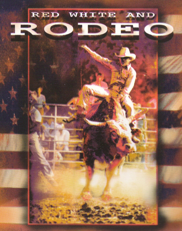 Vintage Western Rodeo Cowboy Horse Riding Wall Decor Art Print Poster (16x20)