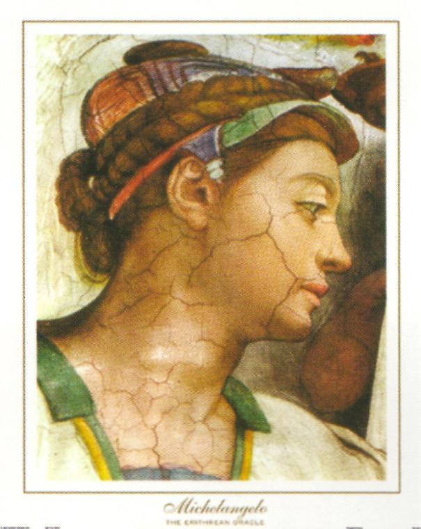 Michelangelo The creation of Adam Sistine Chapel Wall Decor Art Print Poster (16x20)
