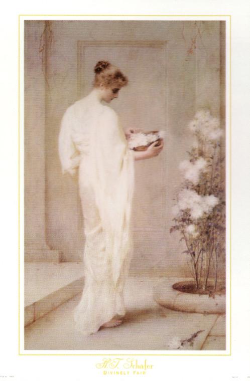 British Victorian Lady Wall Decor Art Print Poster (16x20)