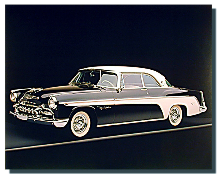 1955 Desoto Fireflite Posters- Black and White
