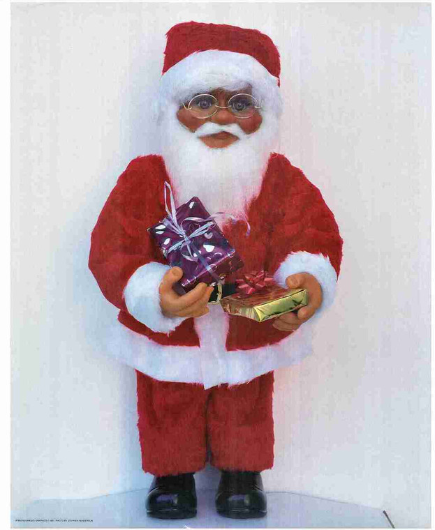 Susan Comish Santa Claus Gifts Kids Wall Decor Art Print Poster (16x20)