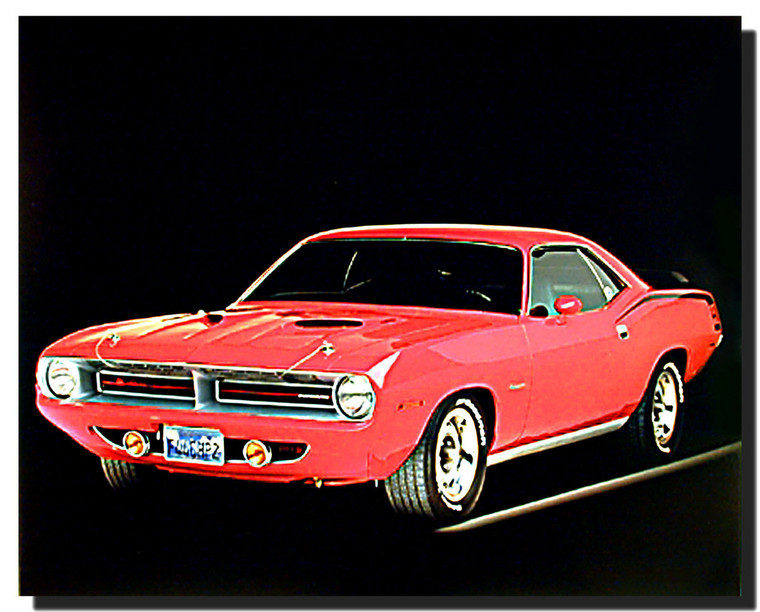 1970 Plymouth Cuda Classic Car Posters