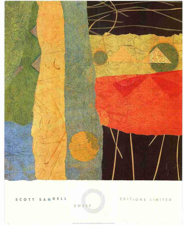 Flying Bird Kid Sitting in Sea Side Wall Art Print Poster (16x20)
