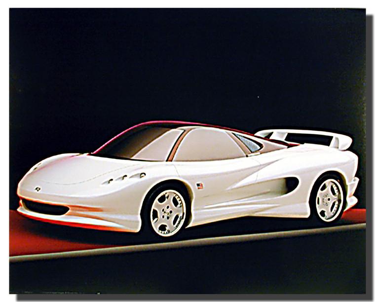 Vision K2 Car Posters