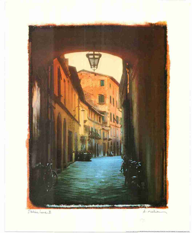 Vintage Scenery Painting Wall Decor Fine Art Print Poster (16x20)