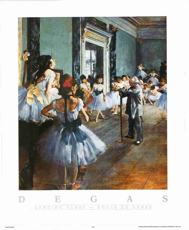 Girls Dance Dancing Vintage Scenery Wall Decor Fine Art Print Poster (16x20)