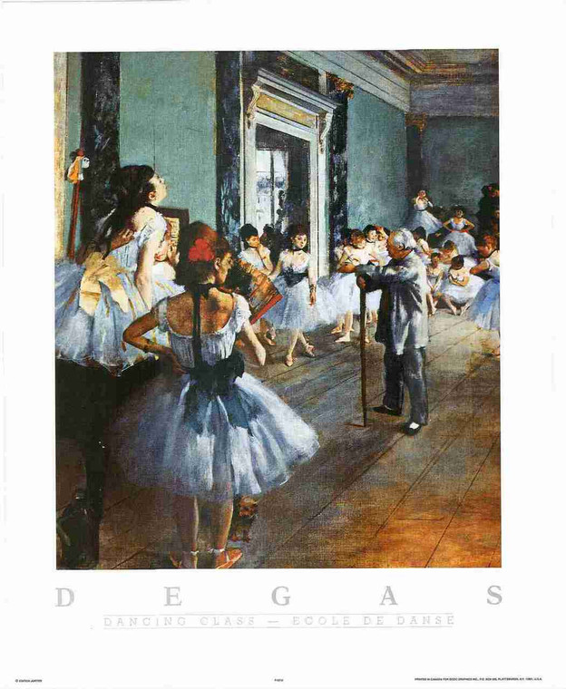 Girls Dance Dancing Vintage Scenery Wall Decor Fine Art Print Poster (16x20)