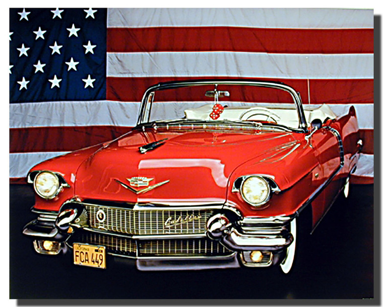 1956 Cadillac Car Posters