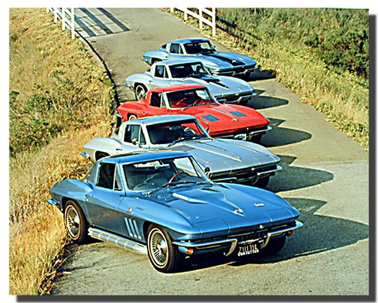 Corvettes Cars Posters