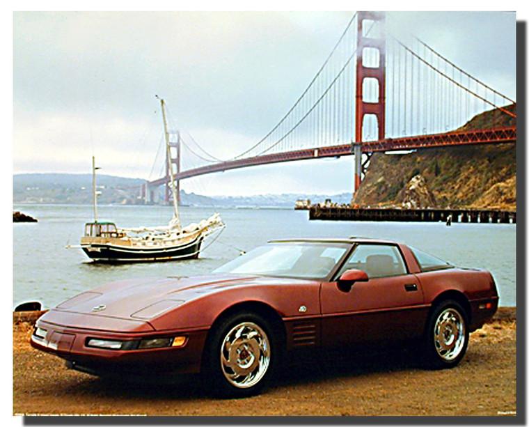 Corvette Car Posters