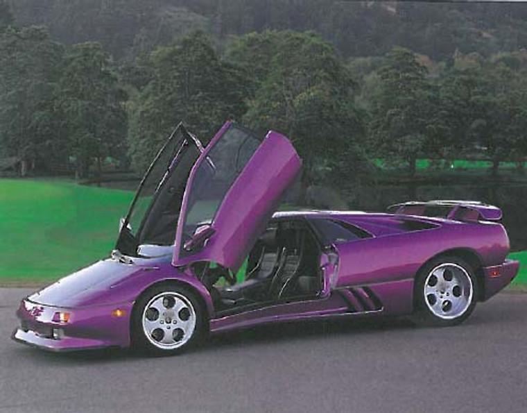 Lamborghini 1994 Automobile Car Posters