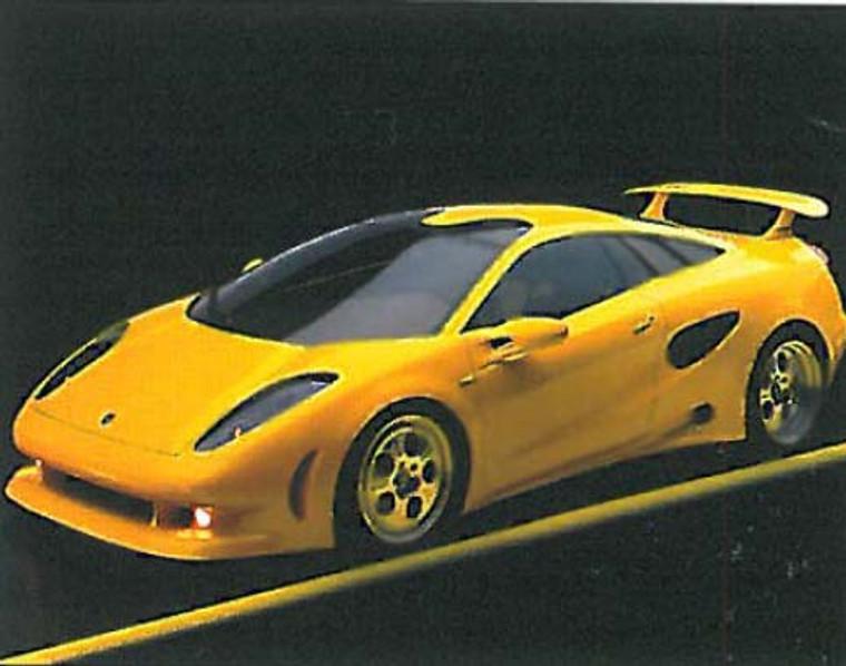 Lamborghini Cala Car Posters
