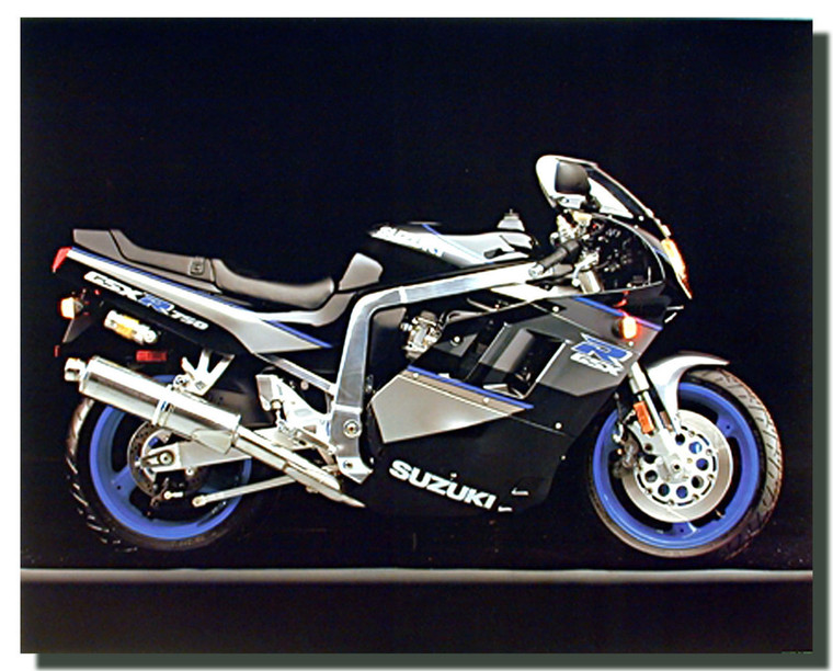 Suzuki GSXR 750 Motorcycle Posters