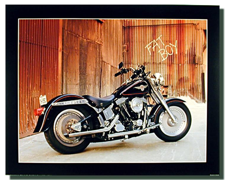 Harley Davidson Fatboy Poster
