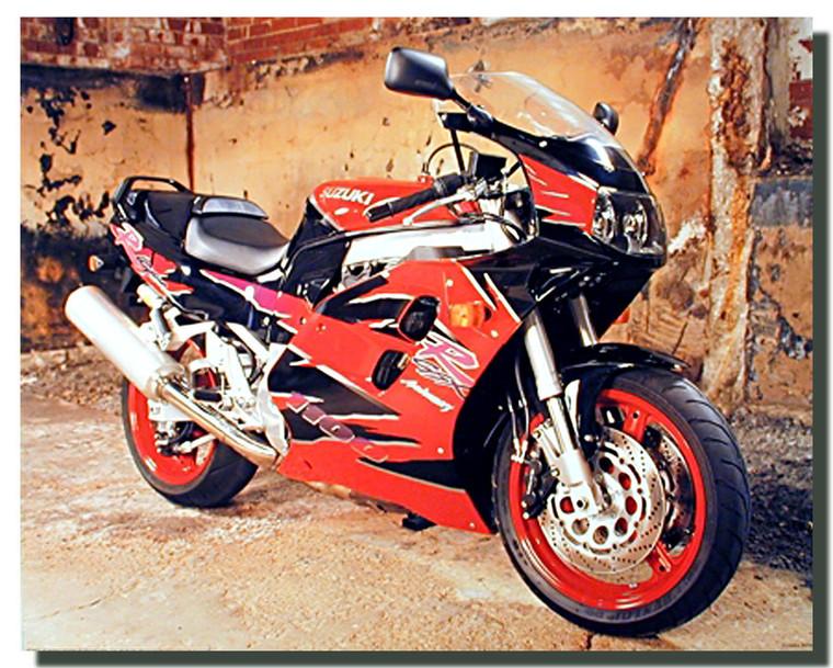 Suzuki 1100 GSX Anniversary Sports Motorcycle Posters