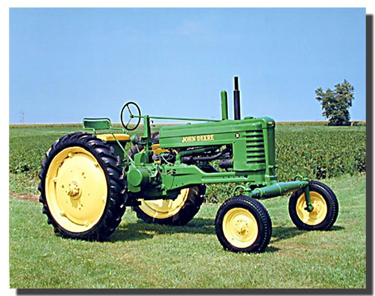 1947 John Deere Tractor Poster
