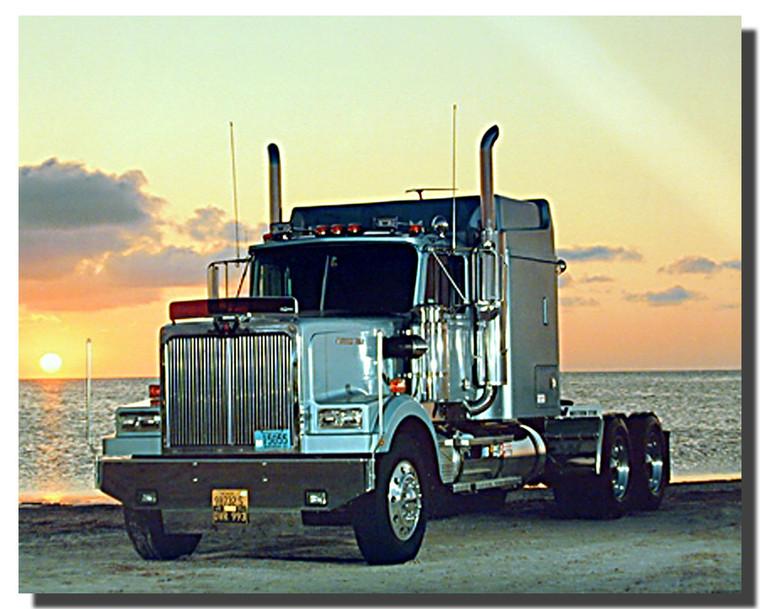 Western Star Truck Poster