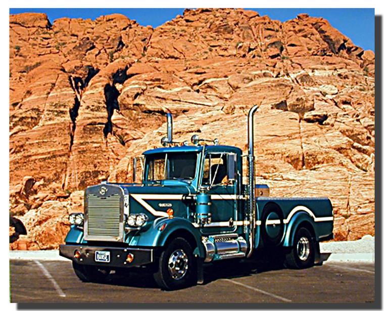 Manse Classic Truck Poster