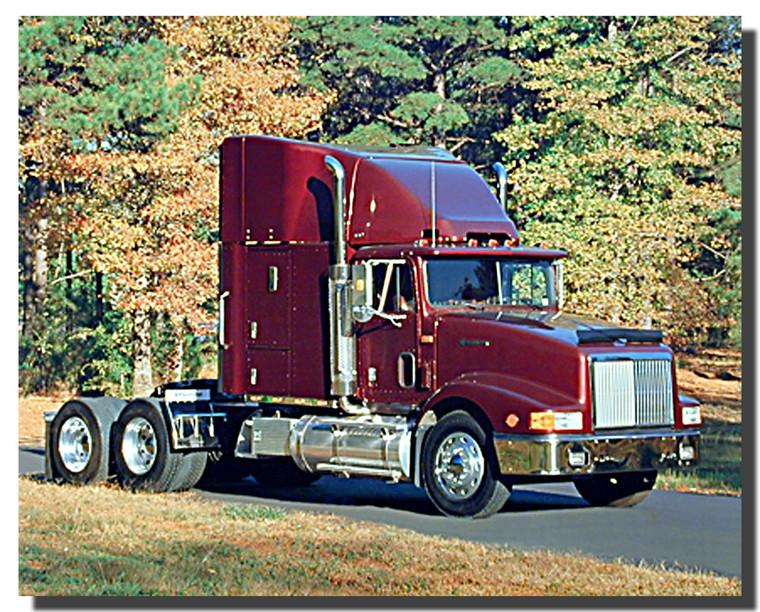International Truck Poster