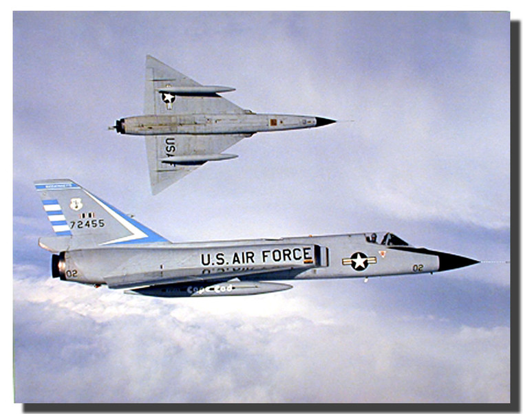 USAF f 106 fighter jets Poster