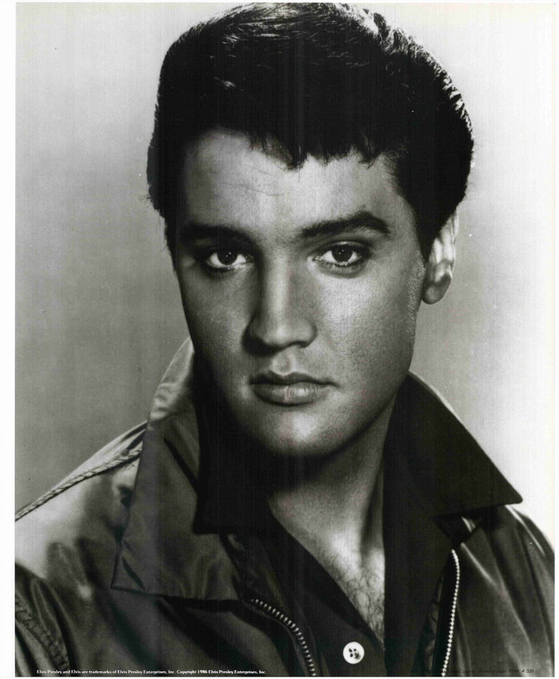 Young Elvis Presley Portrait