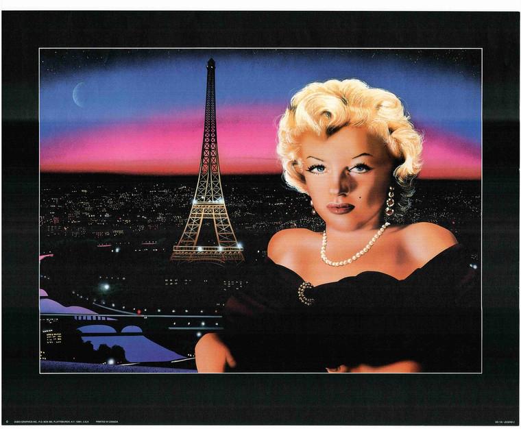Marilyn Monroe In Paris Drawing