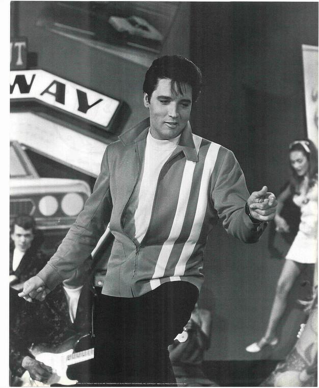 Young Elvis Presley Dancing