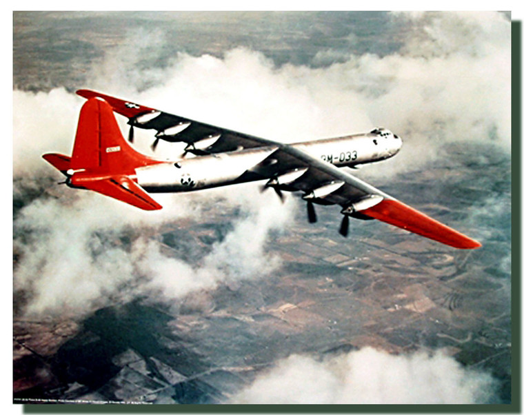 US Air Force B-36 Bomber Poster