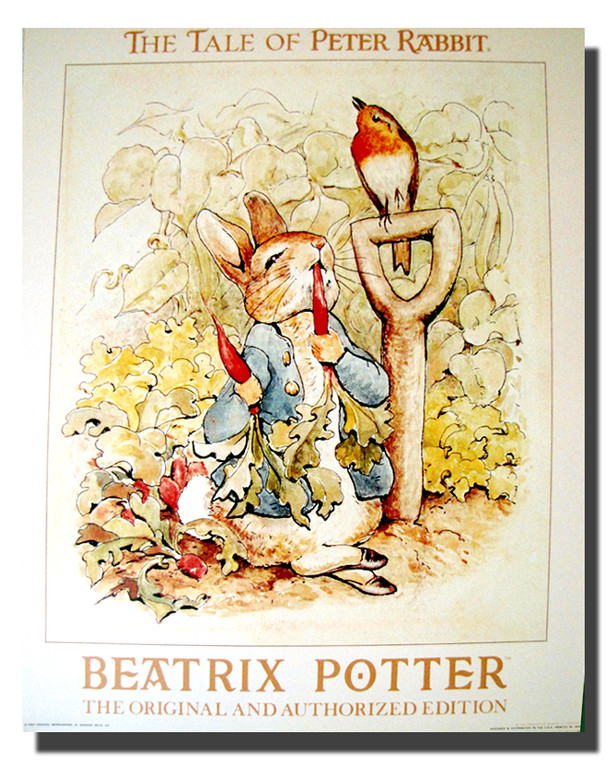 The Tale of Peter Rabbit Poster