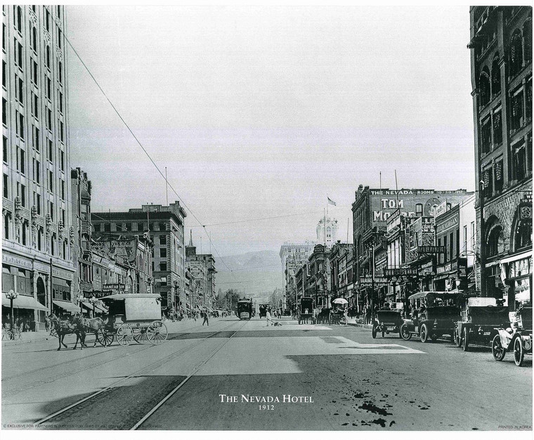 The Nevada Hotel Vintage Country Wall Decor Art Print Poster (16x20)