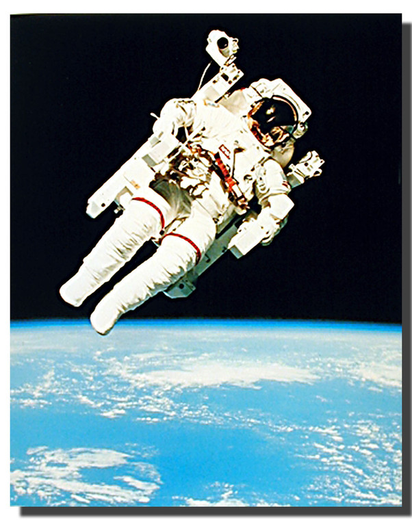 Astronaut in Space Posters