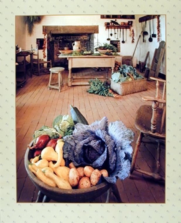 Fruits & Vegetables Still Life Wall Decor Art Print Poster (16x20)