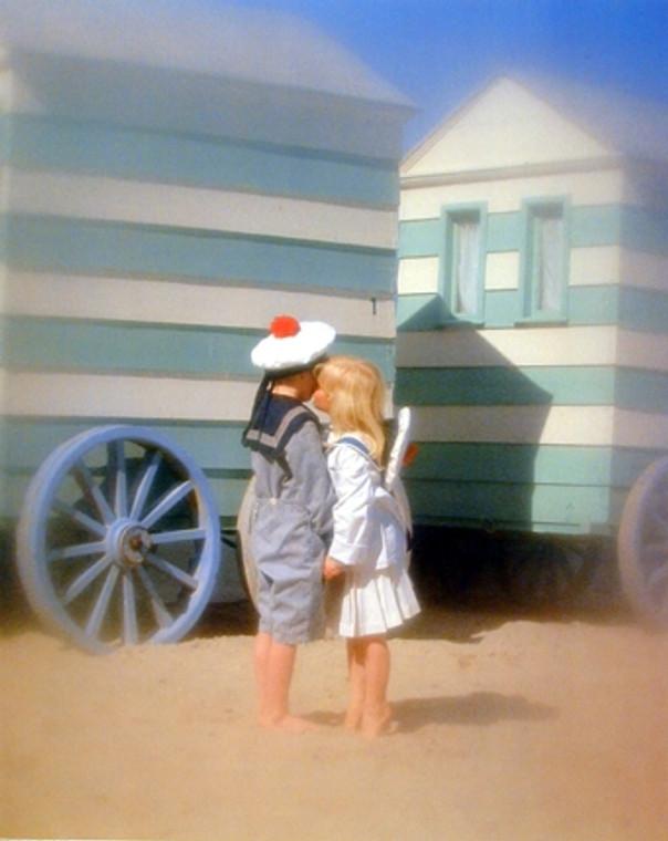 Cute Boy & Girl Kissing Couple Inspirational Wall Decor Art Print Poster (16x20)