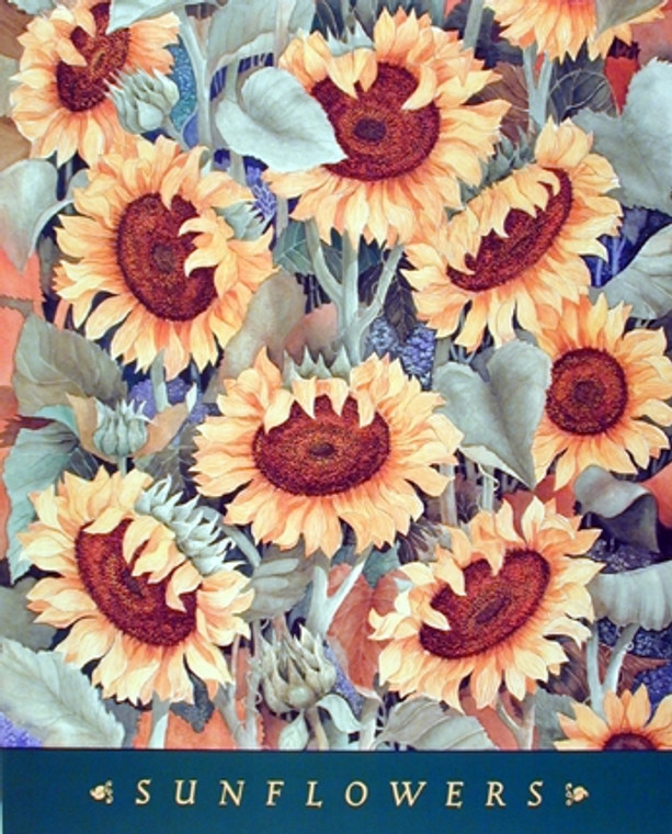 Sunflowers Floral Nature Wall Decor Art Print Poster (16x20)