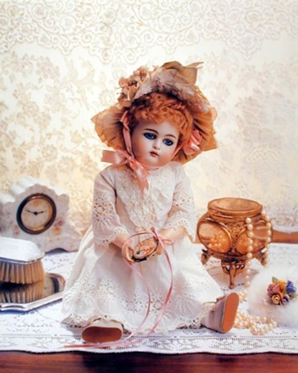 Doll on a Dresser Little Girls Rooms Wall Decor Art Print Poster (16x20)