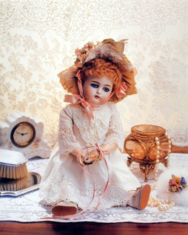Doll on a Dresser Little Girls Rooms Wall Decor Art Print Poster (16x20)
