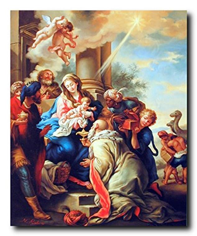 Mary with Child Ruben Religious Christian Wall Decor Art Print Poster (16x20)
