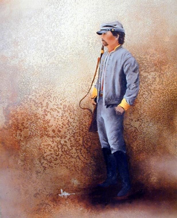 Johnny Rebel Civil War American History Wall Decor Art Print Poster (16x20)