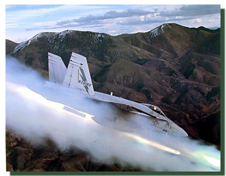 FA 18 Super Hornet Poster