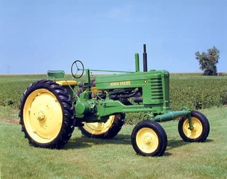 1947 John Deere Vintage Farming Tractor Wall Decor Picture Art Print (8x10)
