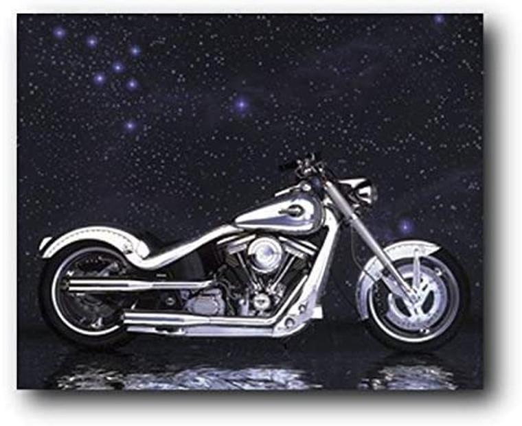 Vinatge Motorcycle Wall Decor Art Print Poster (8x10)