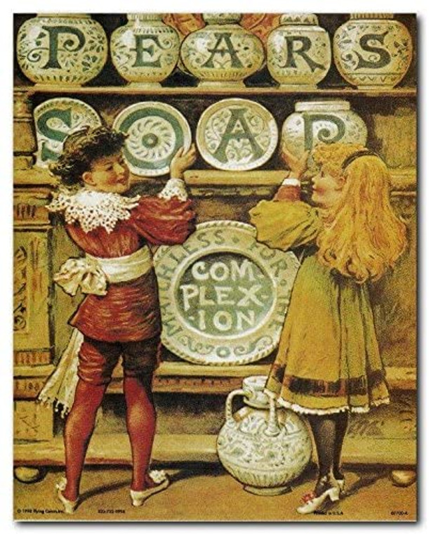 Pears Soap Vintage Ad Advertisement Art Print Poster (8x10)