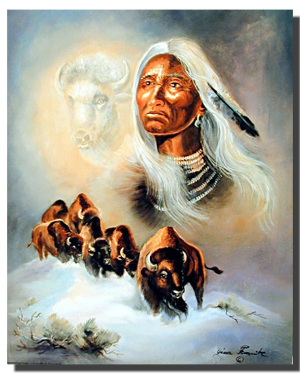 Spirit Of The White Buffalo Posters