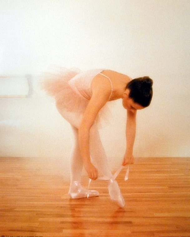Ballerina Ballet Music Dance Tutu Tie Toe Shoes Wall Decor Picture Art Print Poster (16x20)