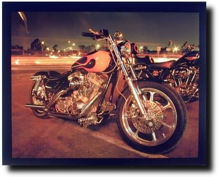 Harley Davidson Classic Motorcycle Wall Decor Picture Art Print (16x20)