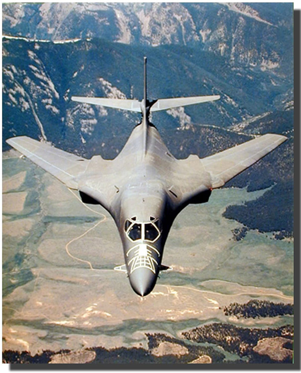Rockwell B-1 Lancer Bomber Jet Airplane Aviation Decor Wall Picture Art Print (16x20)
