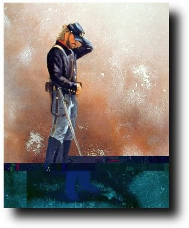Civil War Soldier Blue Union America Wall Decor Art Print Picture (16x20)