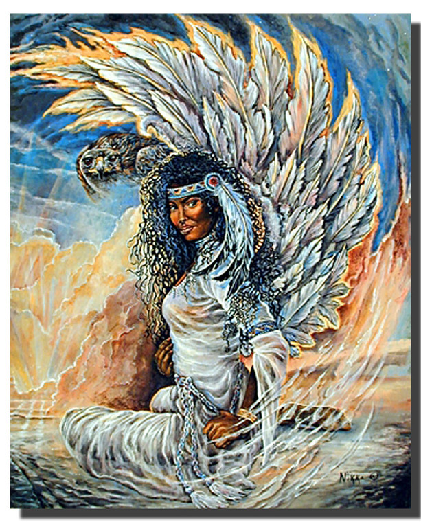 Hawk Maiden Posters