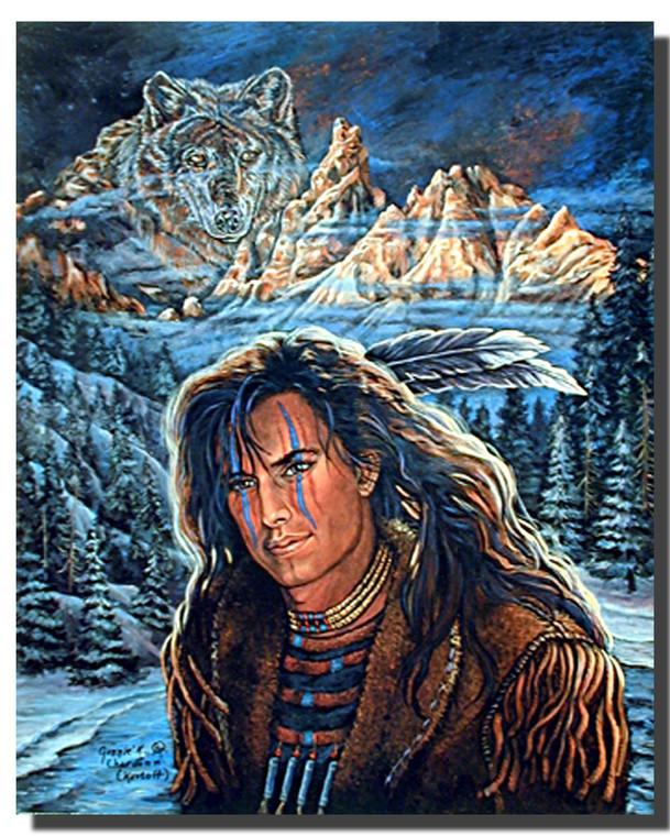 Wolf Brave Jonnie Chardon Posters